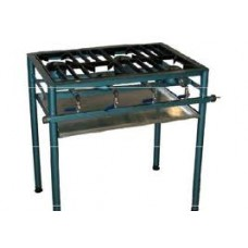 Caterlogic Boiling Table Staggered 4 burner Econo (Gas Stove) - CBTS0004