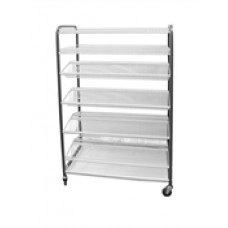Caterlogic Crockery Rack Mobile 400 Piece - CRM0830