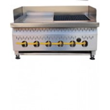 Caterlogic Combination Grill Gas Table Model - GTC0004