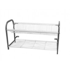 Caterlogic Crockery Rack Wall Mounted 3 shelf 76 plate - CRW2806