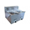 Caterlogic Gas Fryer 2 X 5Lt table model - CGF0010