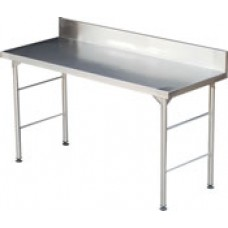 Caterlogic Table with Splash Back 1100mm Econo - ETS1100