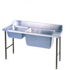 Caterlogic S/Steel Combination Pot Sink 1800mm Plus - CCS1800P